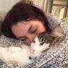 Asha - A Cat, A Book, And A Cup Of Tea