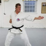 timothygrantcarterSlam, teaching a technique to a karate student