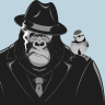 A gorilla's existential crisis