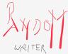 random writing